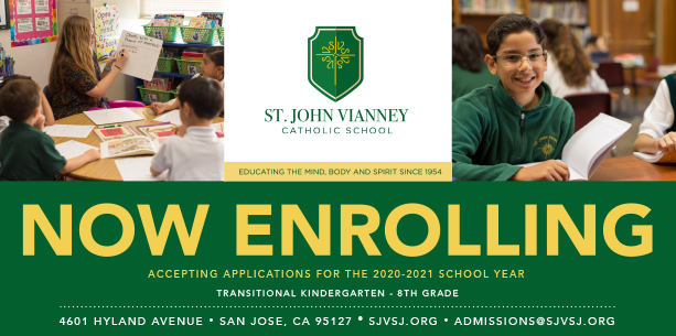 Now Enrolling for 2020-2021 School Year