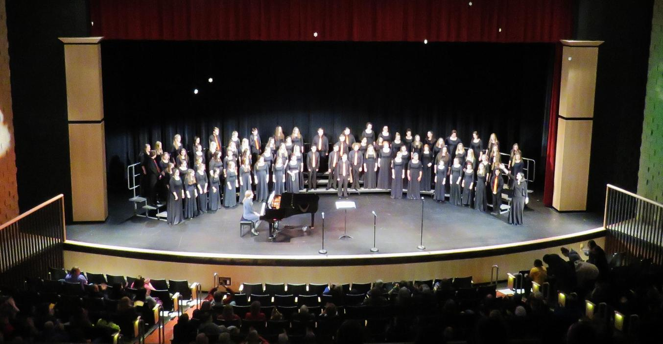 TKHS choirs perform their fall concerts.