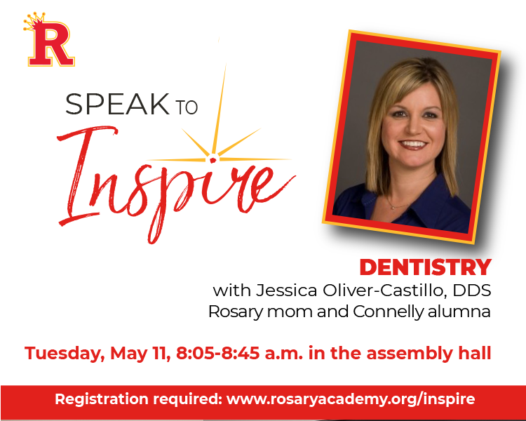 Speak to Inspire series returns on Tuesday, May 11, at 8:05 a.m. Featured Photo