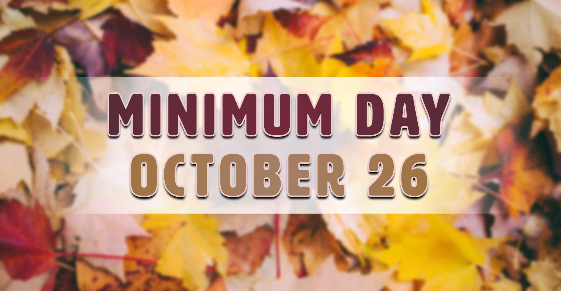 Minimum Day at Linda Vista