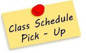 High School Student Schedule Pick-Up Thumbnail Image