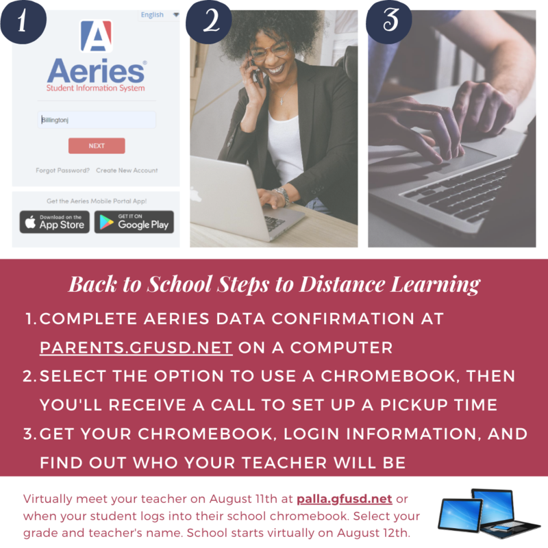Back to School Steps for Distance Learning Thumbnail Image