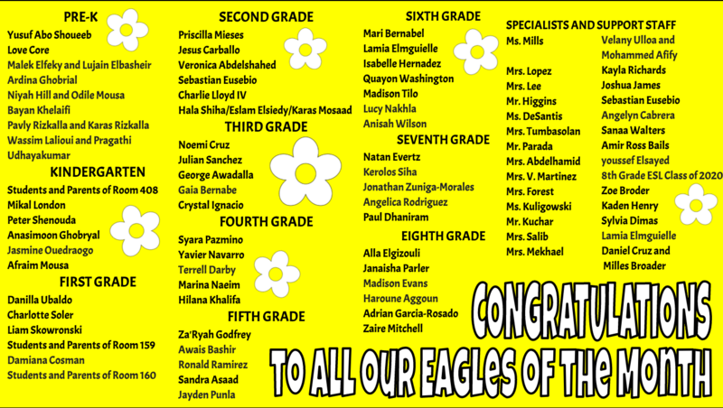 MAY Eagles of the Month Featured Photo