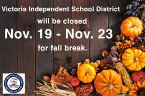 VISD closed for fall break