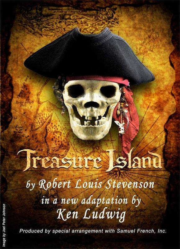 Flyer for Treasure Island