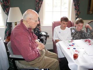 Symonds Students Nursing Home Visit