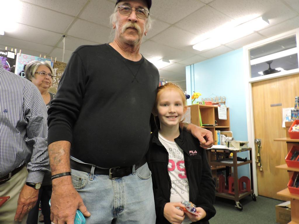 Student and Grandparent