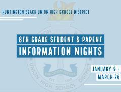 8th Grade Parent Night 2020-21