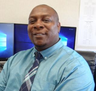 Teague Principal Brian Clark