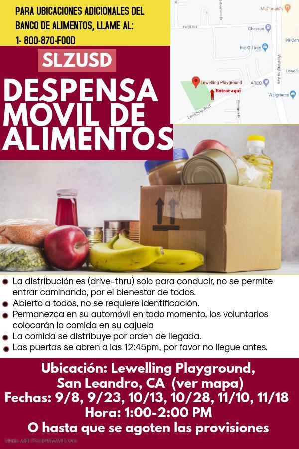 Food Bank Spanish