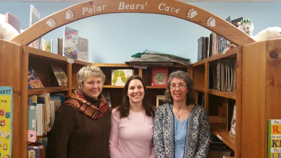 From left to right: Marcia Levesque, Christie Smith & Karin Asseng
