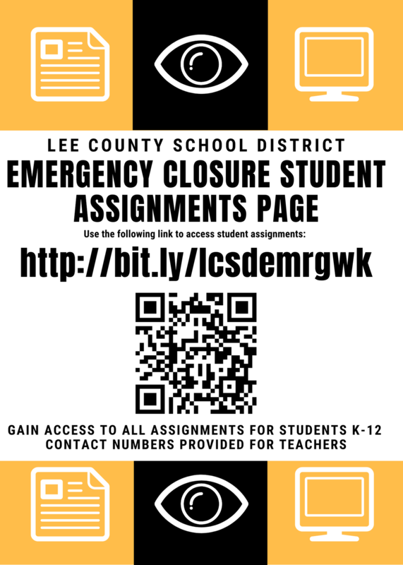 LCSD Emergency School Closure Student Assignment Page