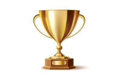 Image of a golden trophy.