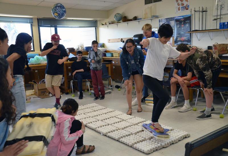 A Nail-biting 8th-Grade Egg Walk Featured Photo