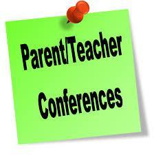 Parent Teacher conference sticky note