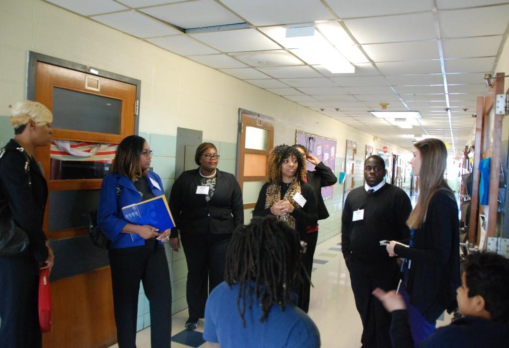 Tour group, South City Compton, Spend a Day with Confluence 2017