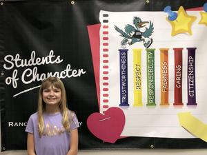 Student of the Month for January 2019