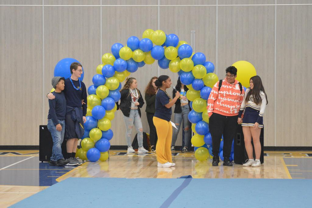 Opening of the New Gym