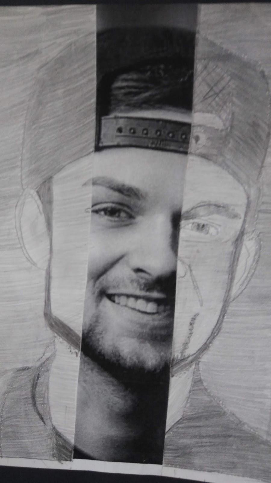 Landmark Student Portrait of Celebrity