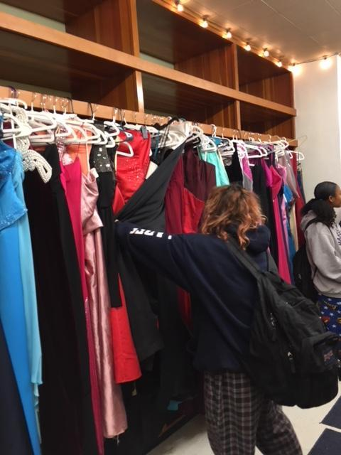 BHS students are helping dress students for formal by setting up a pop-up shop called Driller Threads.