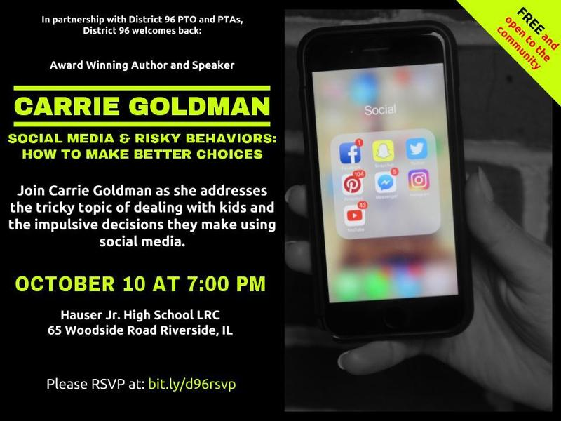 Carrie Goldman: Social Media and Risky Behaviors Featured Photo