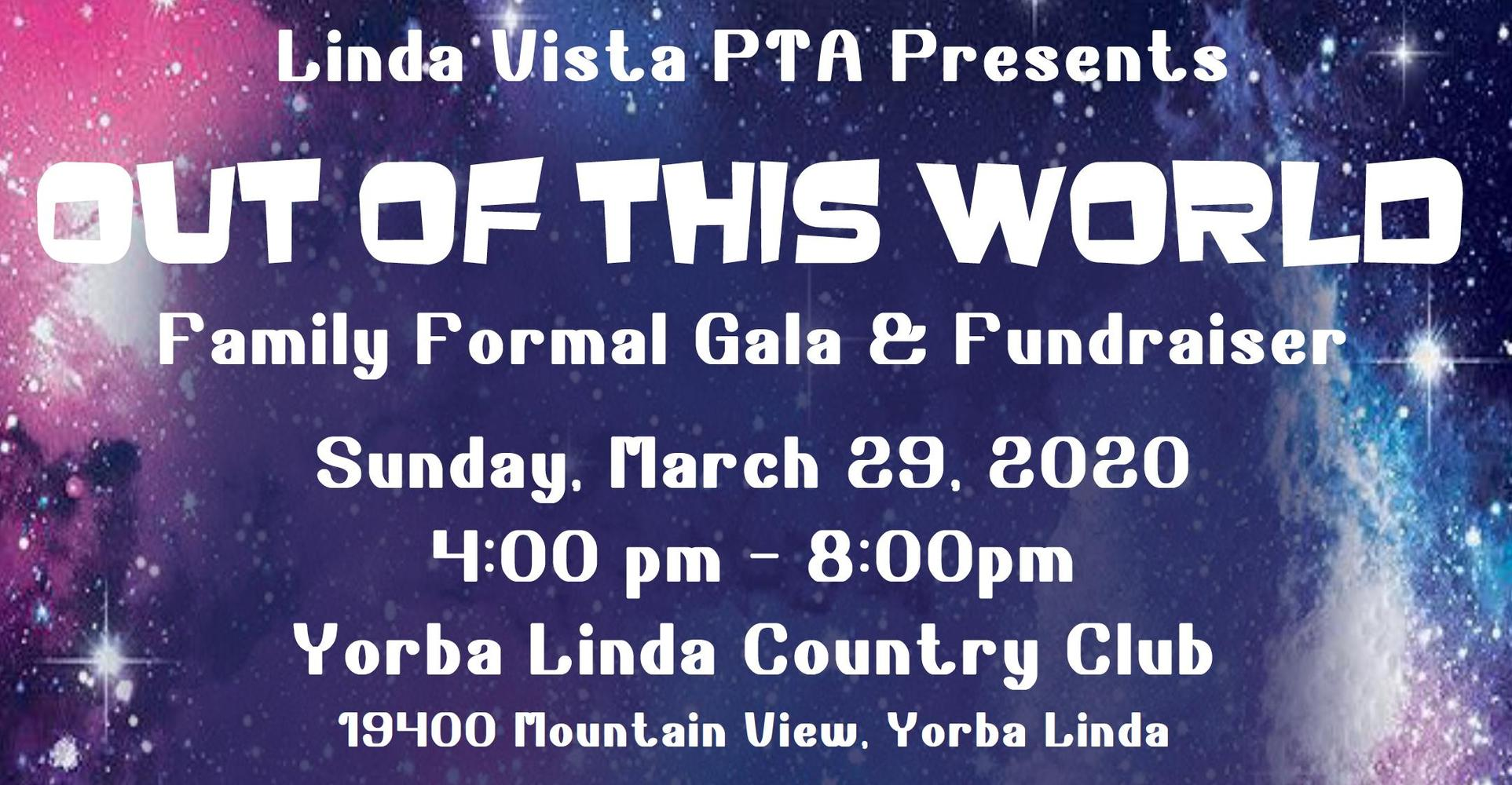 Out of This World - Family Formal Gala & Fundraiser