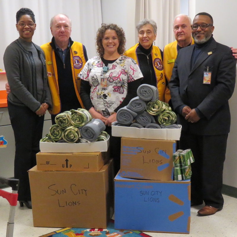 Sun City Lions Club Okatie Supports Hardeeville Students! Featured Photo