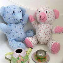 Fabric Teddy Bears