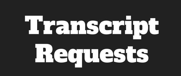 transcript request graphic