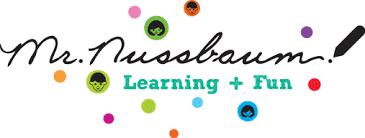 Logo for Mr. Nussbaum's Learning website