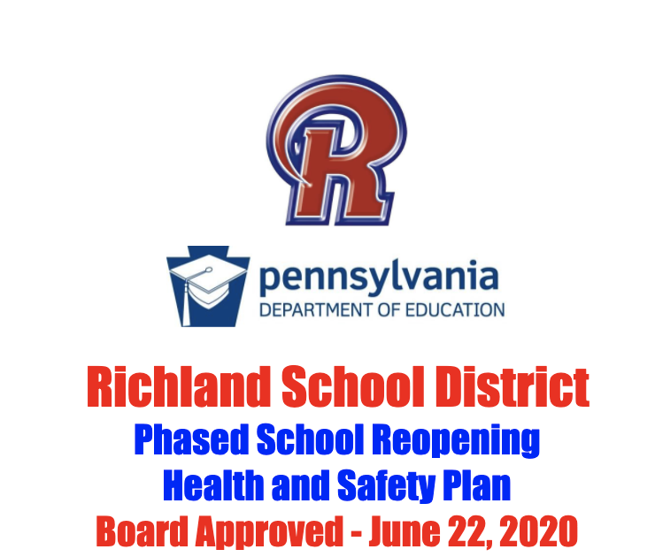 Richland School Board Approves COVID-19 Health and Safety Plan Featured Photo