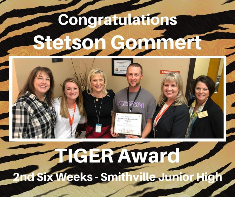 recipient of Tiger Award