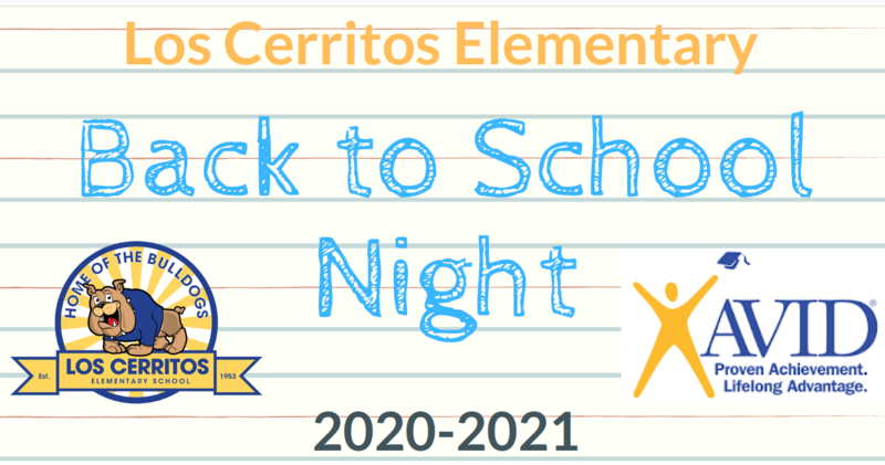 Back to School Night Information Featured Photo