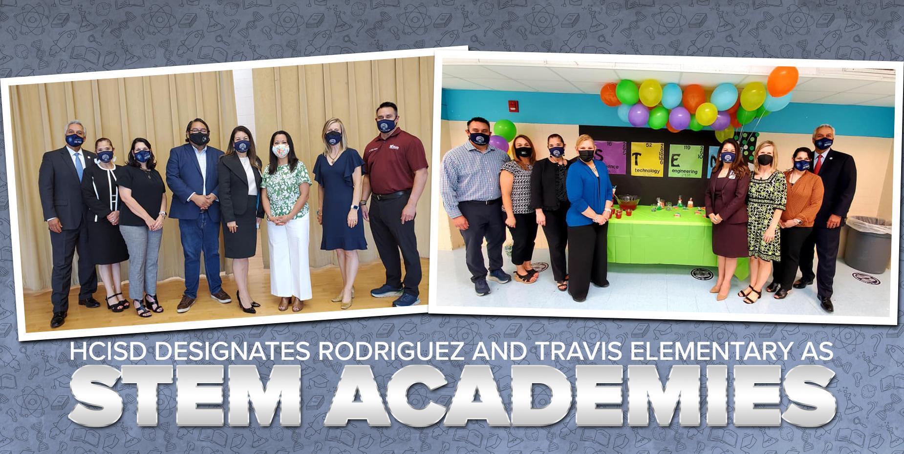 HCISD designates Rodriguez and Travis Elementary as STEM academies