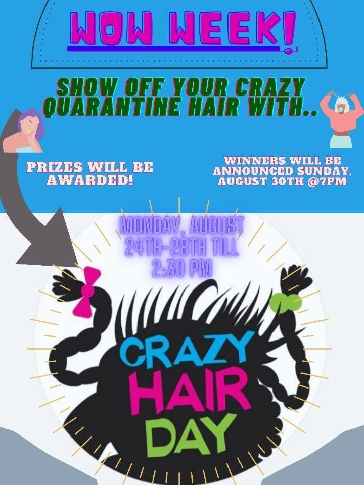 COVID Hair Contest