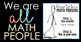 We're all math people