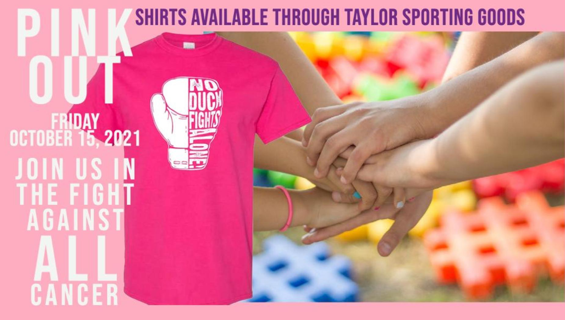 Pink out 2021