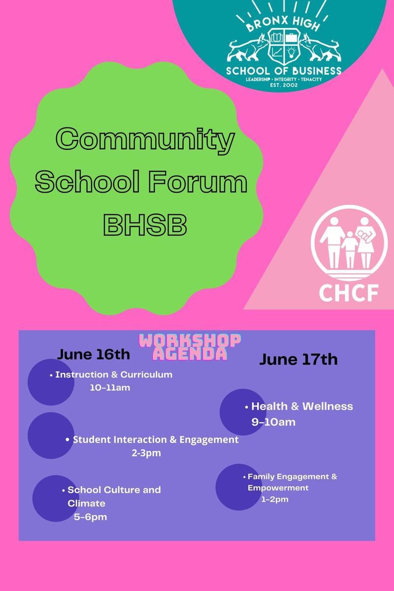 BHSB Community Schools Forum Featured Photo