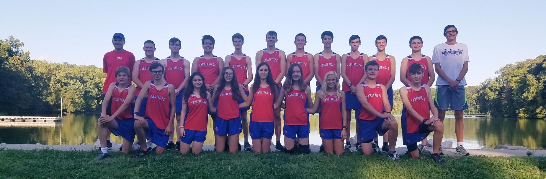 2019 Carlinville High School Cross Country Team