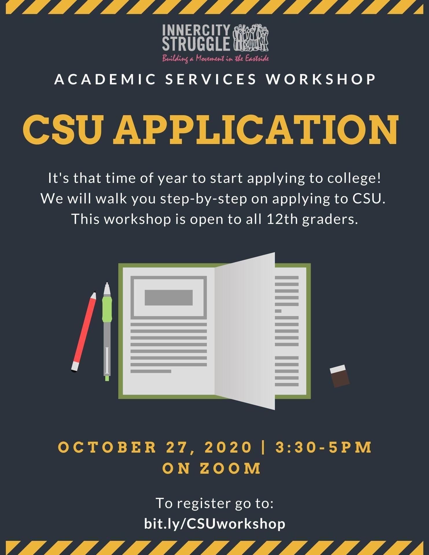 college Application Workshop