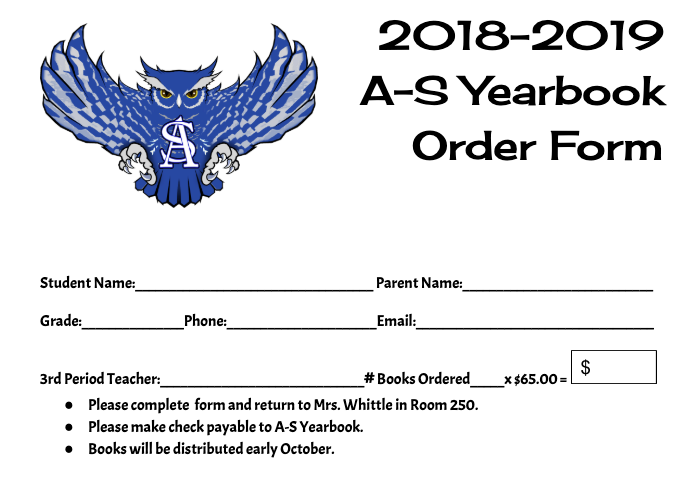 Yearbooks 2018-2019 Still on Sale Featured Photo