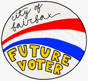 photo of vote sticker