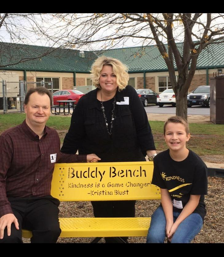 Buddy Bench Donated