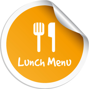 Lunch Menu Button