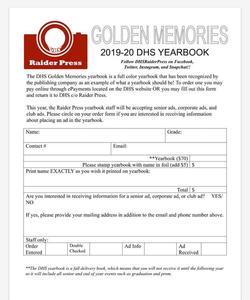 YB Order Form