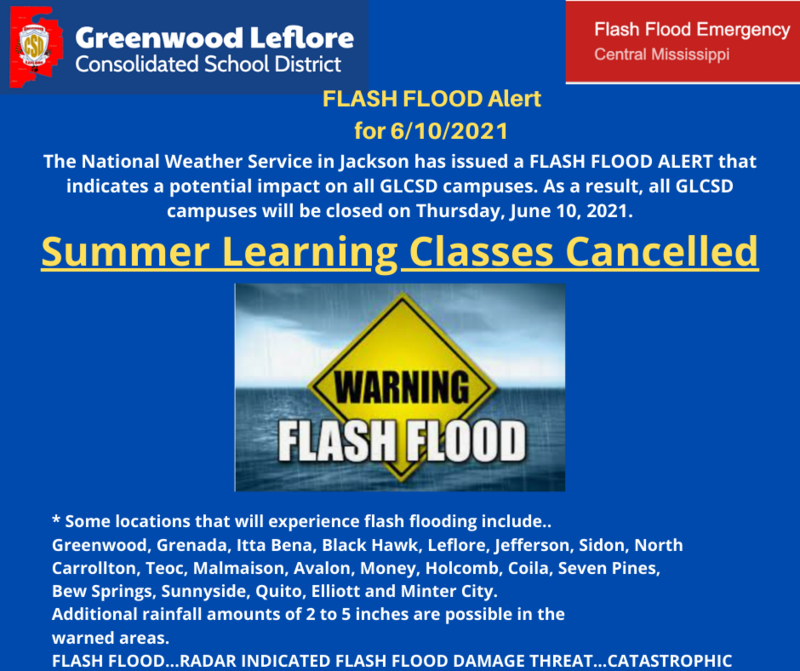 SUMMER LEARNING CLASSES CANCELLED JUNE 10 Featured Photo