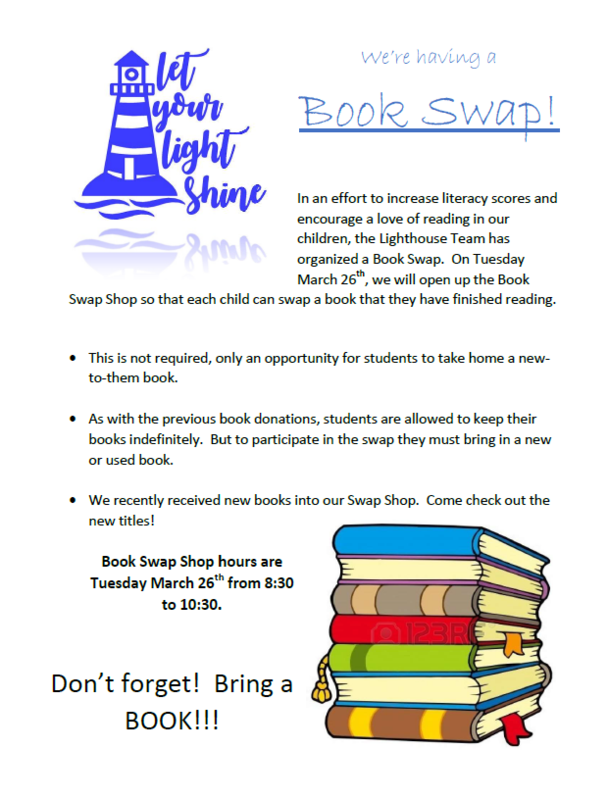 Book Swap Information Flyer
