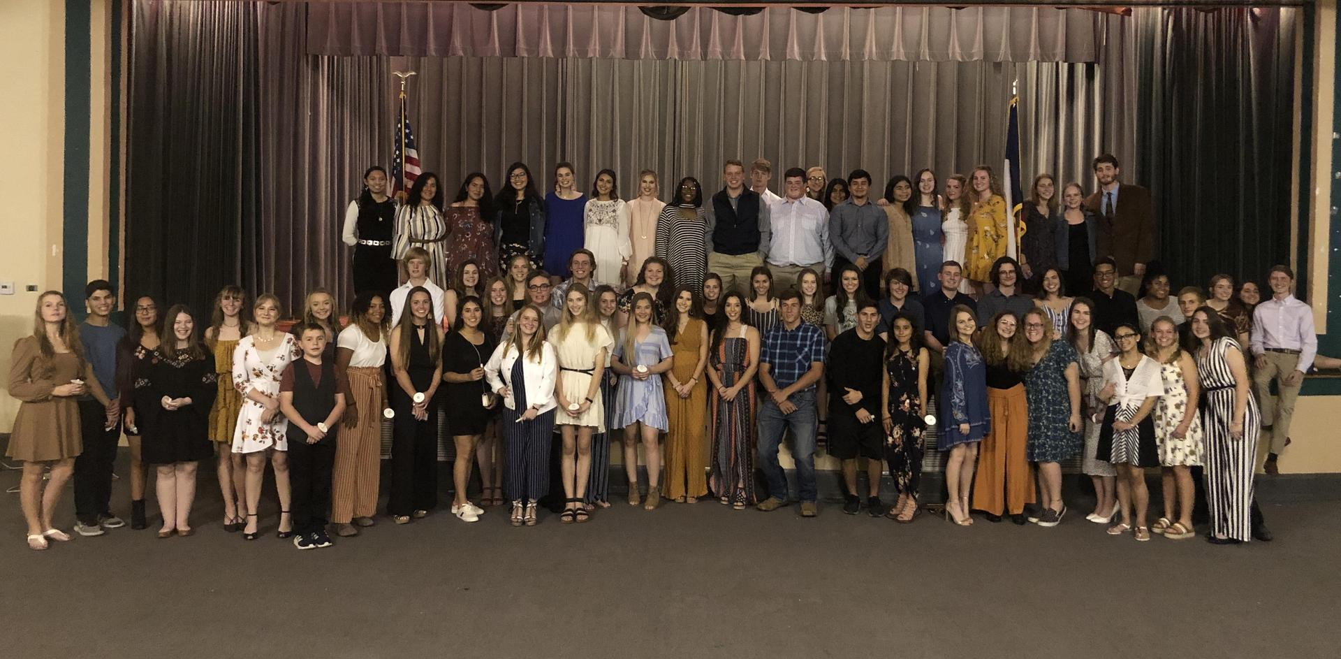 2020 NHS Induction Ceremony