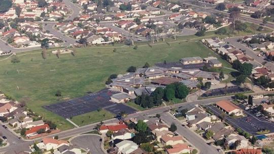Cox aerial photo