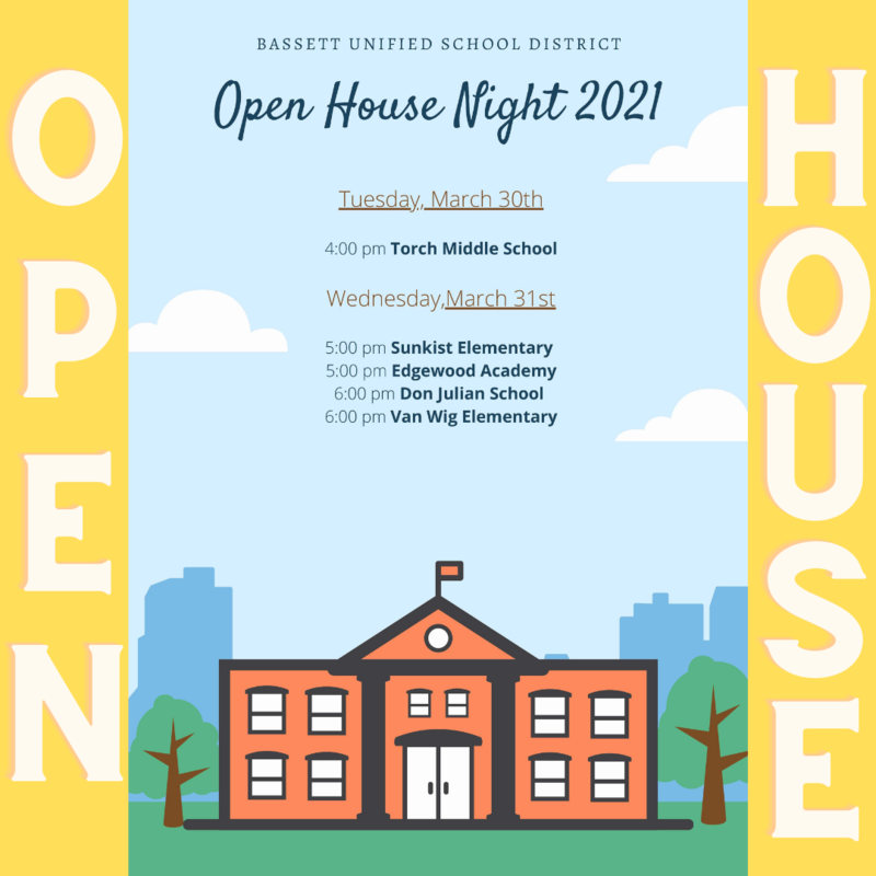 open house 2021 with red school house.
